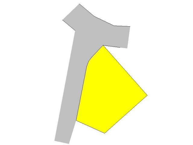 西側5.0m公道に接する